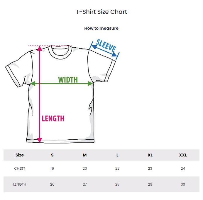 Vlone Clothing Shirt Size Chart