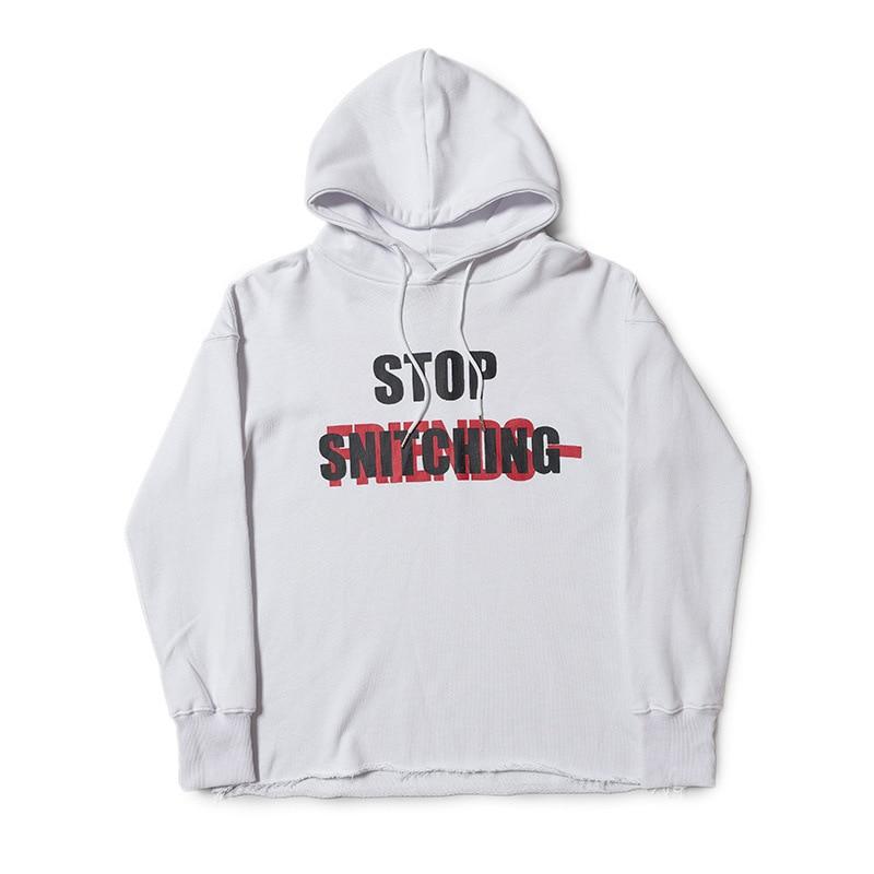 VLONE X NO CAP Stop Snitching Hoodie