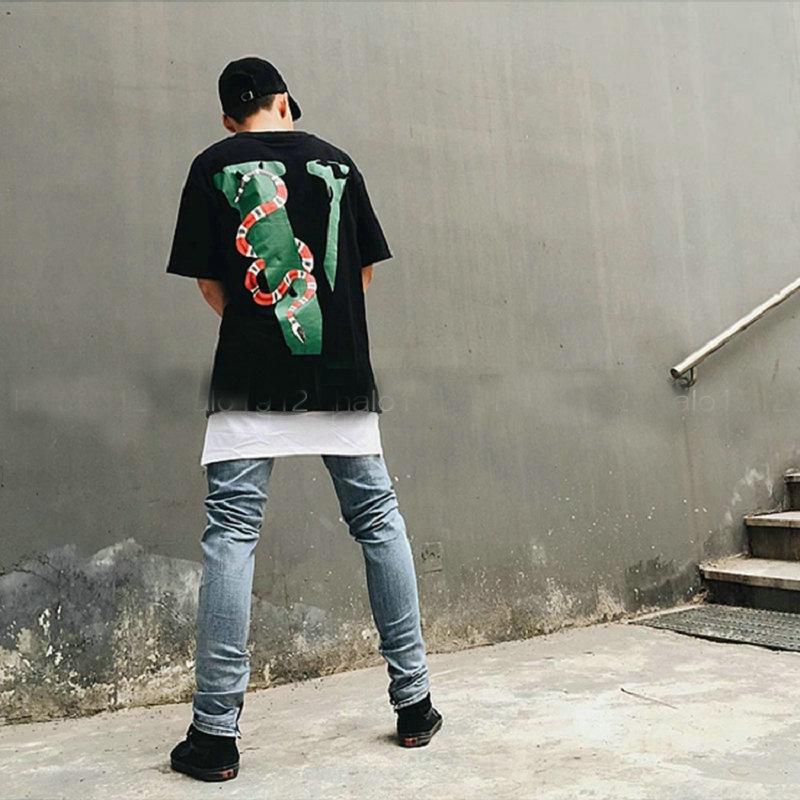 VLONE Friends Snake Printed T-Shirt