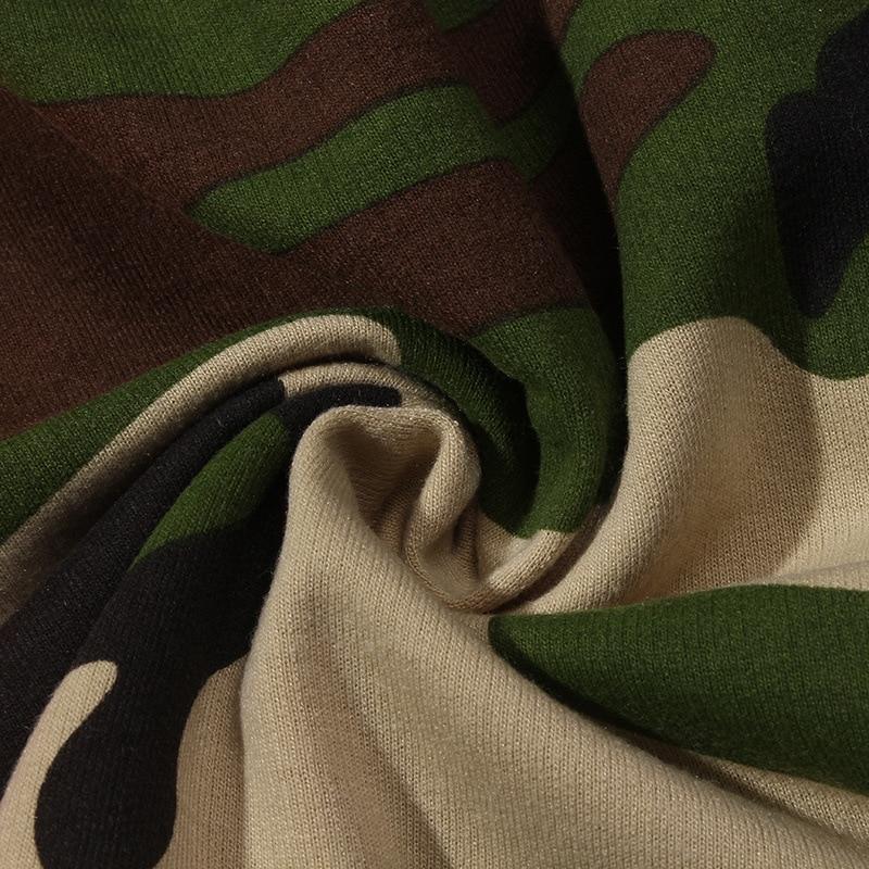 VLONE Long Sleeve Camouflage T-Shirt