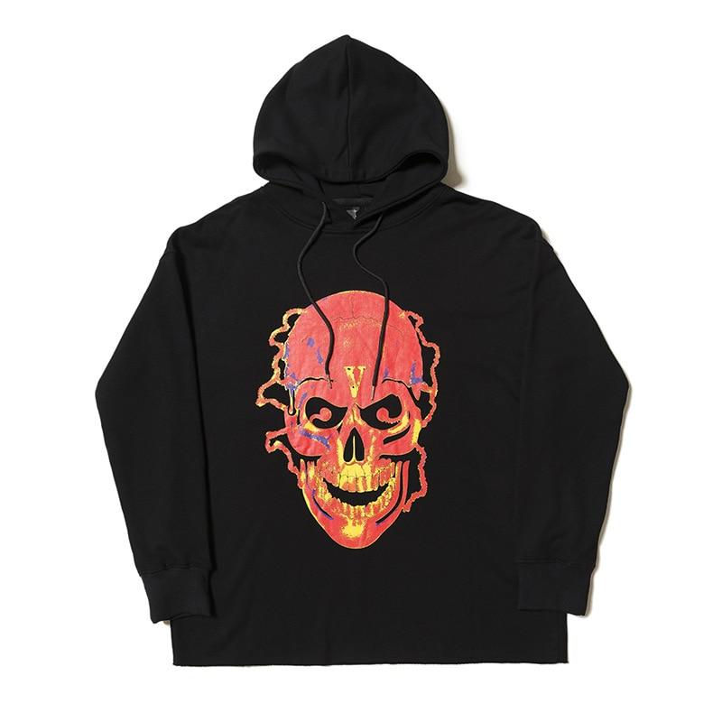 Vlone Shocker Skull Staple Hoodie
