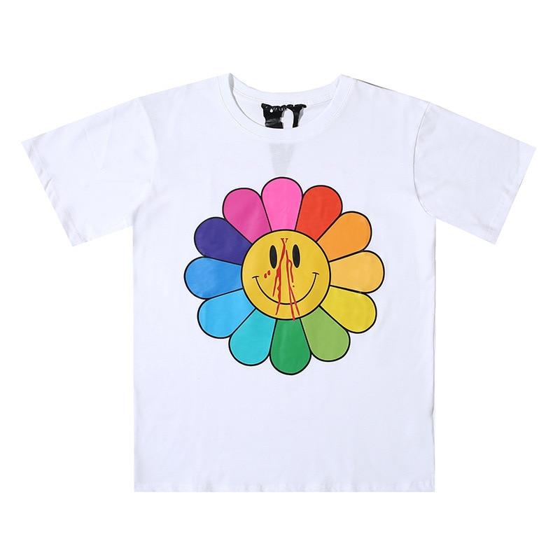 VLONE Sun Flower Smiley Face Tee