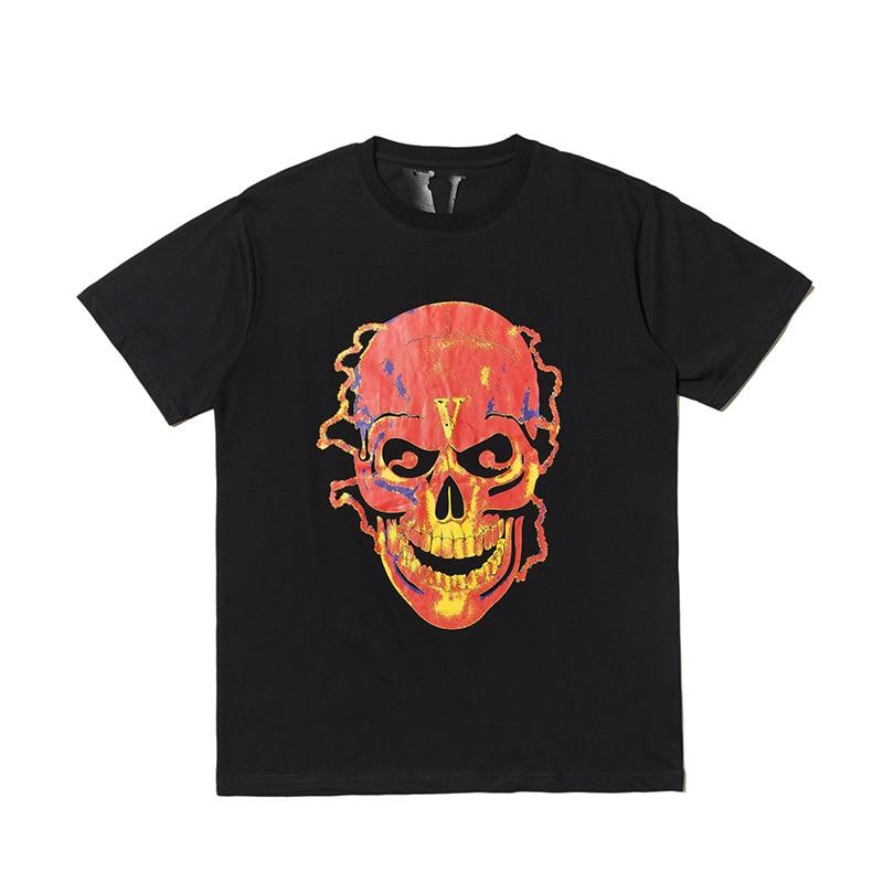 Vlone Shocker Skull T-Shirt