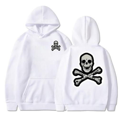 Vlone Skull And Bones Hoodie