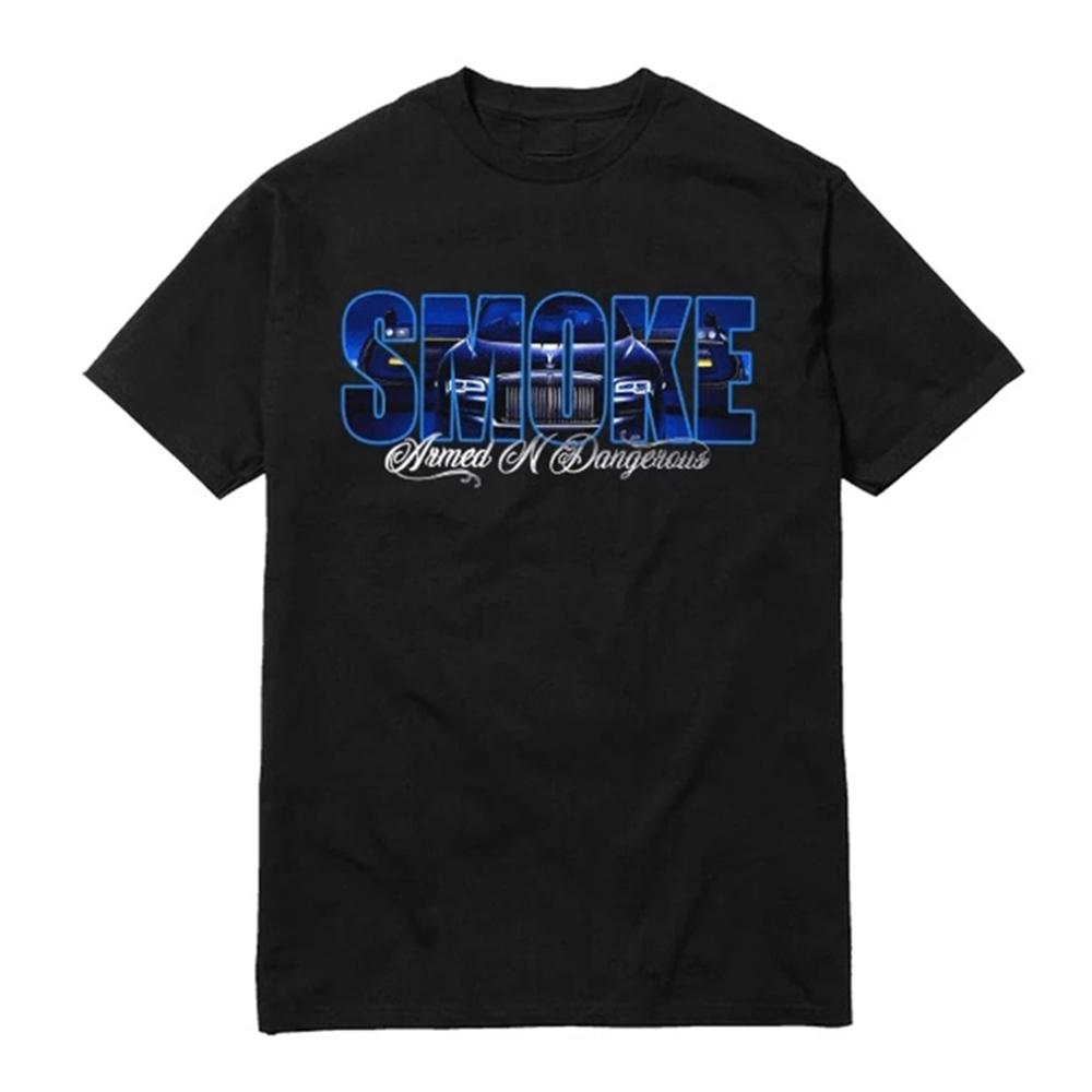 Pop Smoke x VLONE Armed And Dangerous T-Shirt