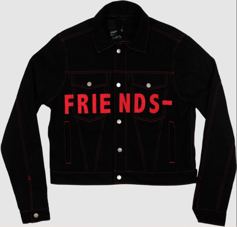Vlone Friend Denim Jacket