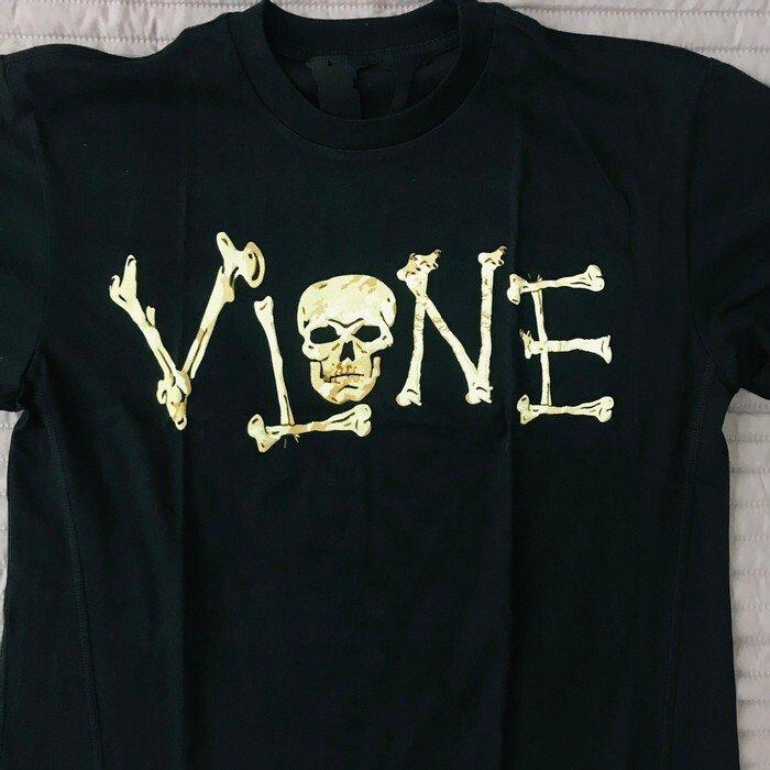 Vlone Skull & Bone Body Tee close