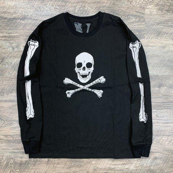Vlone Skull and Bones Long Sleeve