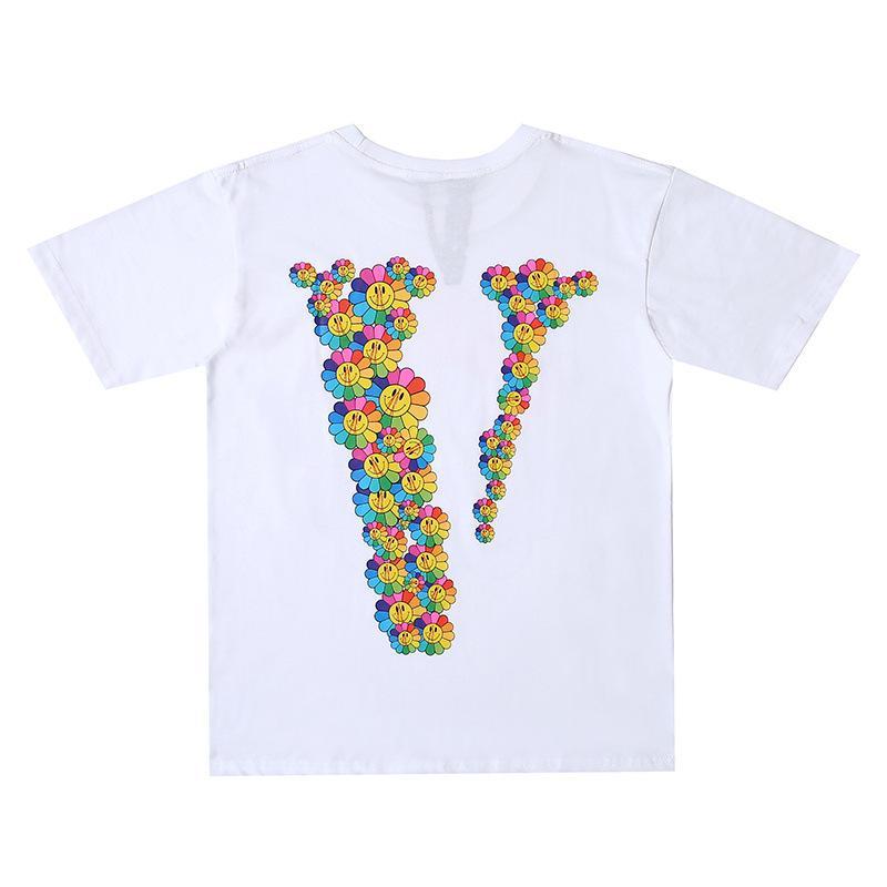 Vlone-Smile-Sunflower-T-Shirt