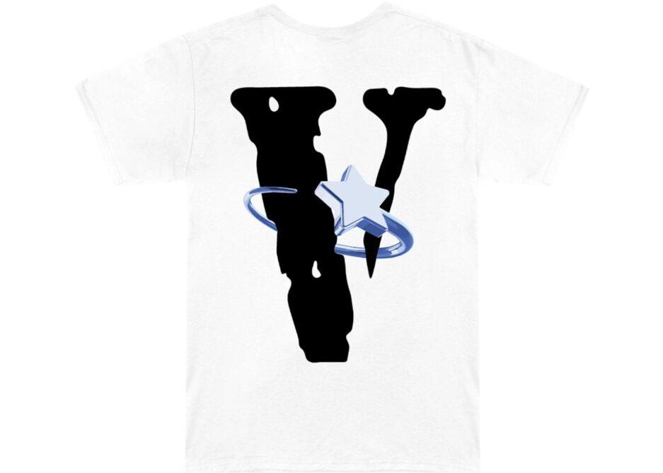 Pop Smoke x VLONE Halo T-Shirt back