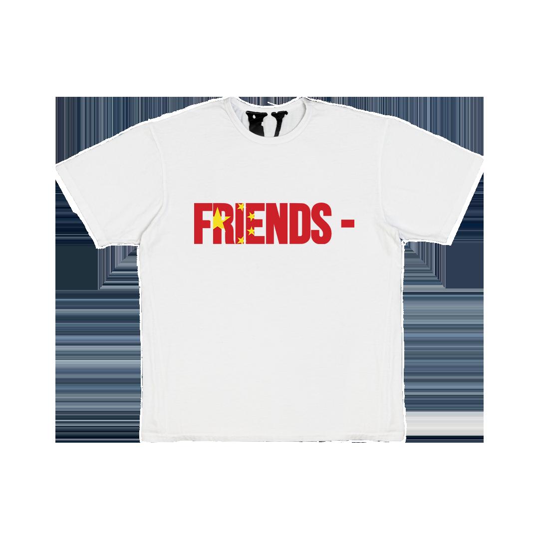 FRIENDS - CHN T-SHIRT - WHITE FRONT