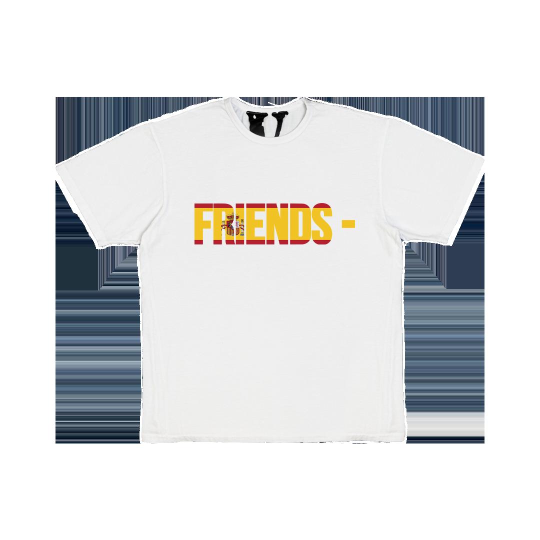 FRIENDS - ESP T-SHIRT - WHITE front